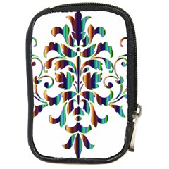 Damask Decorative Ornamental Compact Camera Cases by Nexatart