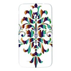 Damask Decorative Ornamental Samsung Galaxy Mega I9200 Hardshell Back Case