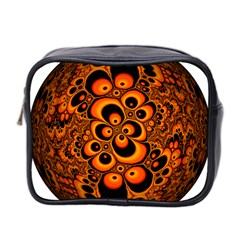 Fractals Ball About Abstract Mini Toiletries Bag 2 Side by Nexatart