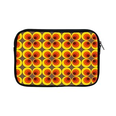 Seventies Hippie Psychedelic Circle Apple Ipad Mini Zipper Cases by Nexatart