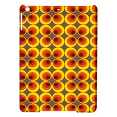 Seventies Hippie Psychedelic Circle Ipad Air Hardshell Cases by Nexatart