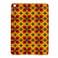 Seventies Hippie Psychedelic Circle Ipad Air 2 Hardshell Cases by Nexatart