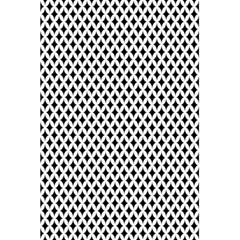 Diamond Black White Shape Abstract 5 5  X 8 5  Notebooks by Nexatart