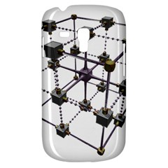 Grid Construction Structure Metal Galaxy S3 Mini by Nexatart