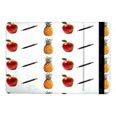 Ppap Pen Pineapple Apple Pen Samsung Galaxy Tab Pro 10 1  Flip Case by Nexatart