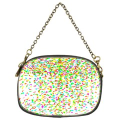 Confetti Celebration Party Colorful Chain Purses (two Sides)  by Nexatart