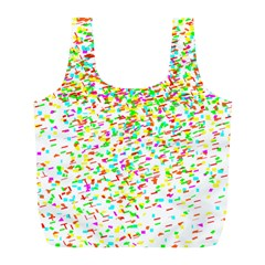 Confetti Celebration Party Colorful Full Print Recycle Bags (l)  by Nexatart