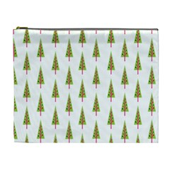 Christmas Tree Cosmetic Bag (xl) by Nexatart
