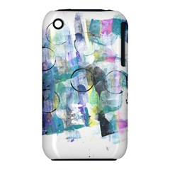 Background Color Circle Pattern Iphone 3s/3gs by Nexatart
