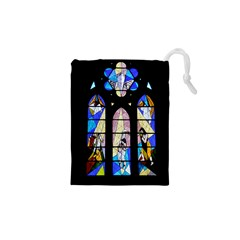 Art Church Window Drawstring Pouches (xs)  by Nexatart