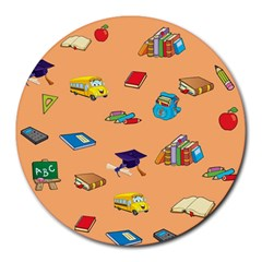 School Rocks! Round Mousepads by athenastemple