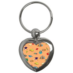 School Rocks! Key Chains (heart)  by athenastemple