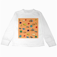 School Rocks! Kids Long Sleeve T Shirts by athenastemple