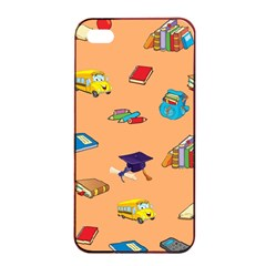 School Rocks! Apple Iphone 4/4s Seamless Case (black) by athenastemple