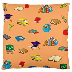 School Rocks! Large Cushion Case (one Side) by athenastemple