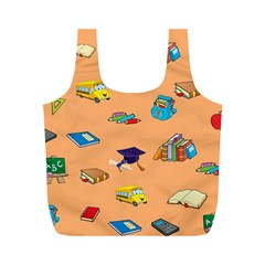 School Rocks! Full Print Recycle Bags (m)  by athenastemple