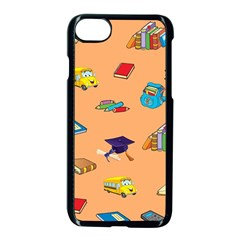 School Rocks! Apple Iphone 7 Seamless Case (black) by athenastemple