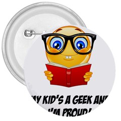 Geek Kid 3  Buttons by athenastemple