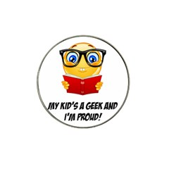 Geek Kid Hat Clip Ball Marker (10 Pack) by athenastemple