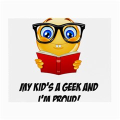 Geek Kid Small Glasses Cloth by athenastemple