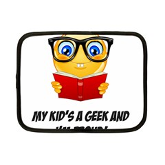 Geek Kid Netbook Case (small)  by athenastemple