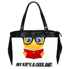Geek Kid Office Handbags (2 Sides)  by athenastemple