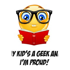 Geek Kid 5 5  X 8 5  Notebooks by athenastemple