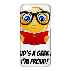 Geek Kid Apple Iphone 5c Hardshell Case by athenastemple