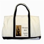 A Child is Miseducated... Two Tone Tote Bag Front