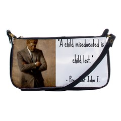 A Child Is Miseducated    Shoulder Clutch Bags by athenastemple
