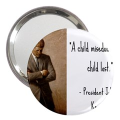 A Child Is Miseducated    3  Handbag Mirrors by athenastemple