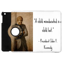 A Child Is Miseducated    Apple Ipad Mini Flip 360 Case by athenastemple