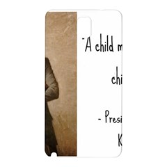 A Child Is Miseducated    Samsung Galaxy Note 3 N9005 Hardshell Back Case by athenastemple