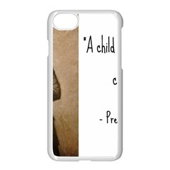 A Child Is Miseducated    Apple Iphone 7 Seamless Case (white) by athenastemple