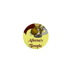 Athena s Temple 1  Mini Buttons by athenastemple