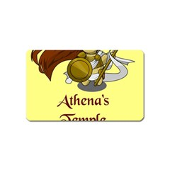 Athena s Temple Magnet (name Card) by athenastemple