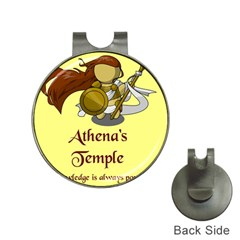 Athena s Temple Hat Clips With Golf Markers by athenastemple