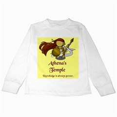 Athena s Temple Kids Long Sleeve T Shirts by athenastemple