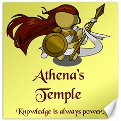 Athena s Temple Canvas 20  X 20   by athenastemple
