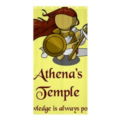 Athena s Temple Shower Curtain 36  X 72  (stall)  by athenastemple