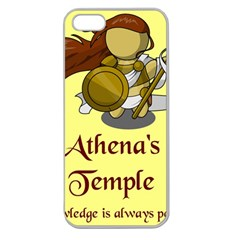 Athena s Temple Apple Seamless Iphone 5 Case (clear) by athenastemple
