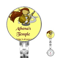 Athena s Temple Stainless Steel Nurses Watch by athenastemple