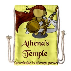 Athena s Temple Drawstring Bag (large) by athenastemple