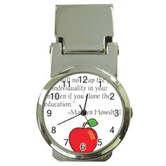 Fruit Of Education Money Clip Watches by athenastemple