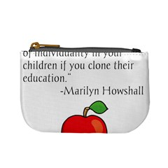 Fruit Of Education Mini Coin Purses by athenastemple