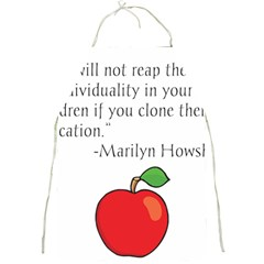 Fruit Of Education Full Print Aprons by athenastemple