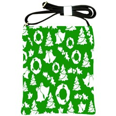 Backdrop Background Card Christmas Shoulder Sling Bags