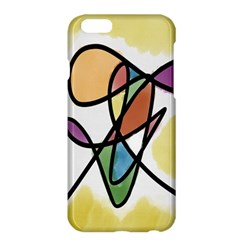 Art Abstract Exhibition Colours Apple Iphone 6 Plus/6s Plus Hardshell Case by Nexatart