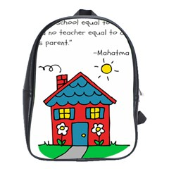 No School Greater    School Bags(large)  by athenastemple