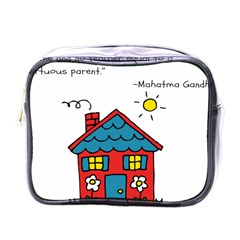No School Greater    Mini Toiletries Bags by athenastemple